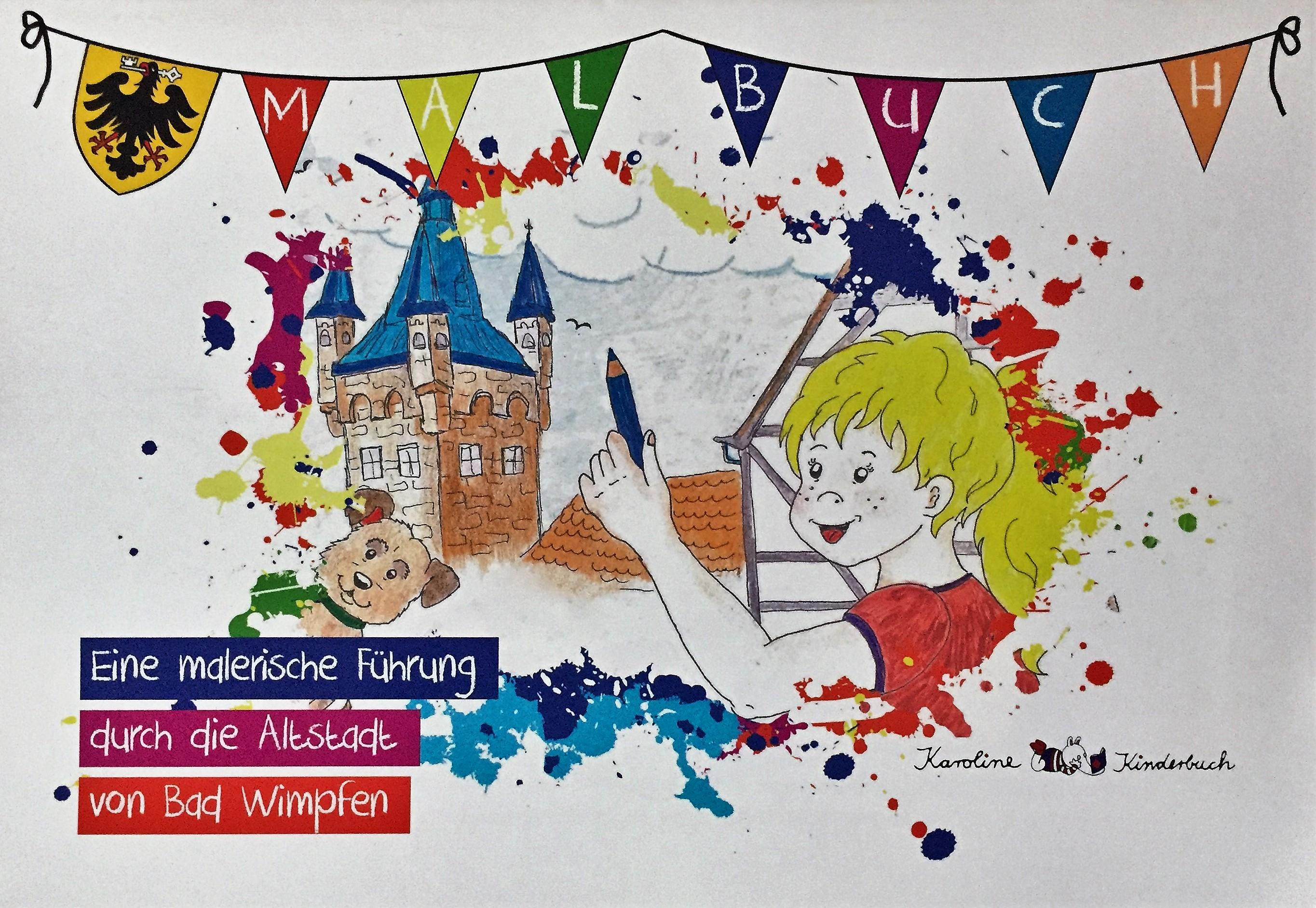 Wimpfener Malbuch Cover